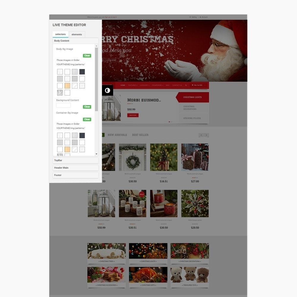 theme - Подарки, Цветы и праздничные товары - Leo Moonsun Christmas - 6