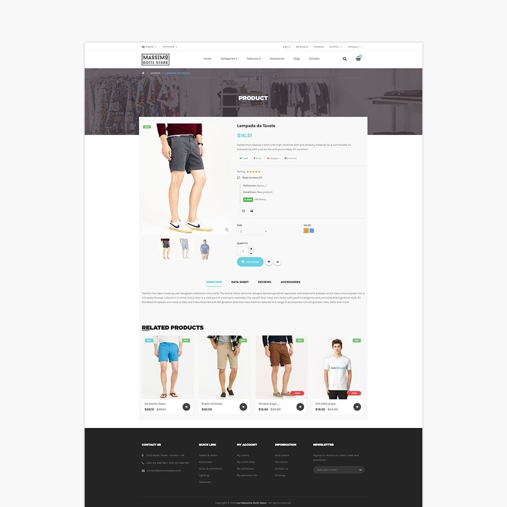 theme - Мода и обувь - Leo Massimo - 3