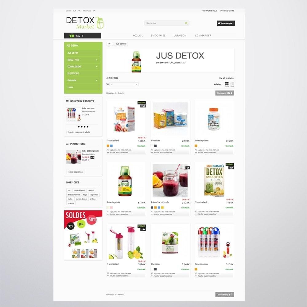theme - Salute & Bellezza - Detox Market - 10