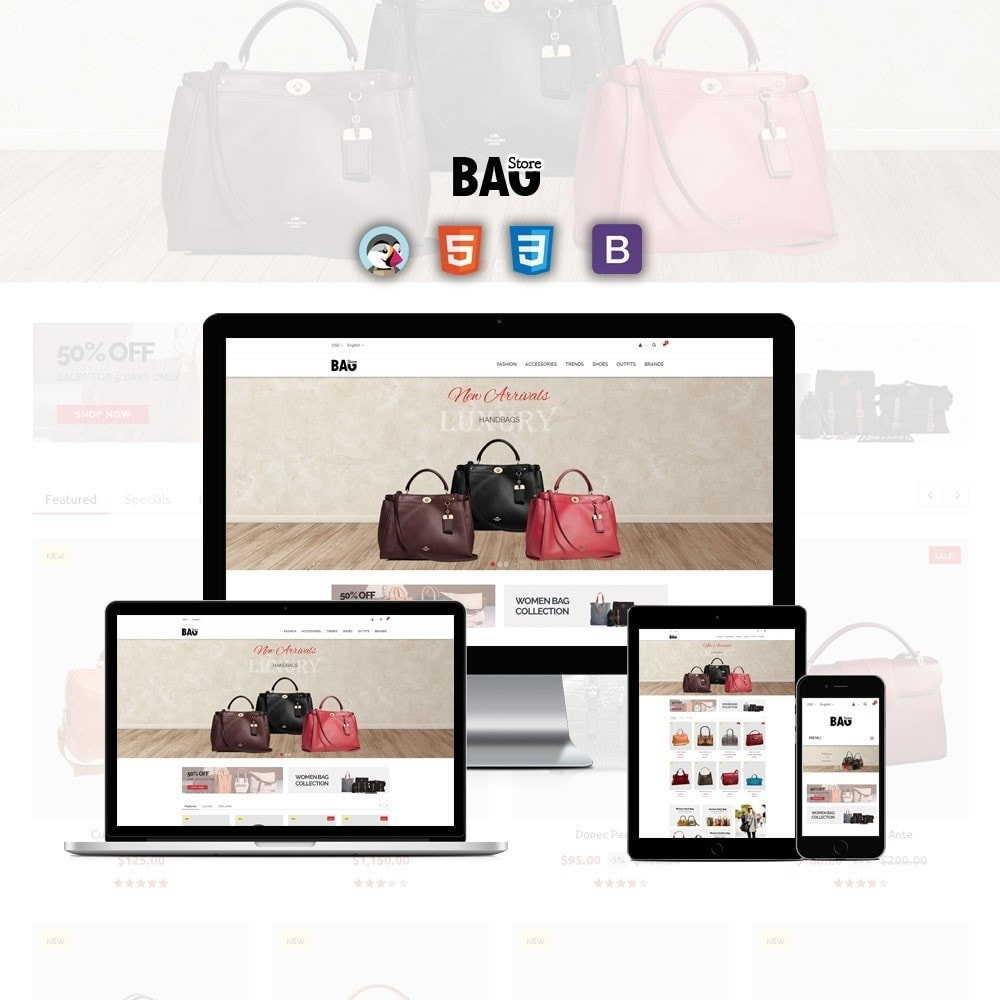 theme - Moda & Calzature - Bag Store - 1