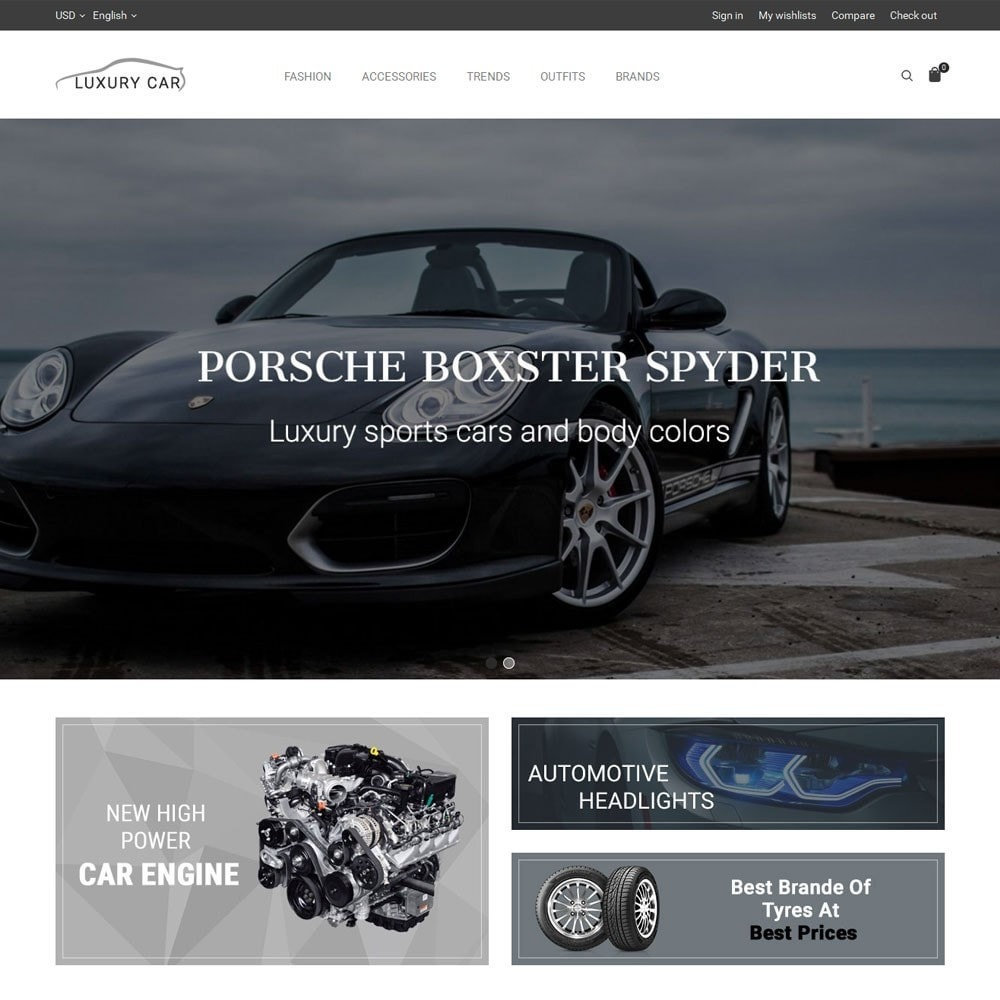 theme - Coches y Motos - Luxury Car Store - 2