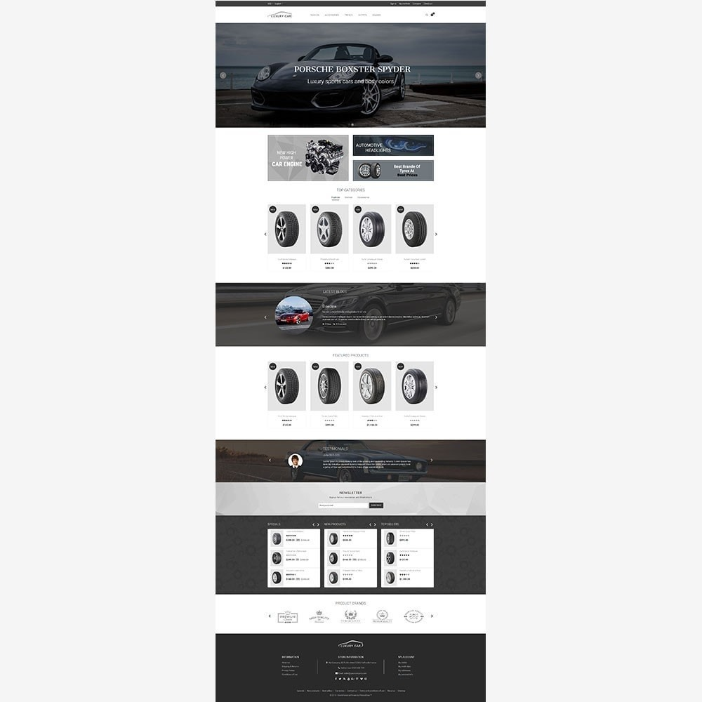 theme - Auto's & Motoren - Luxury Car Store - 4