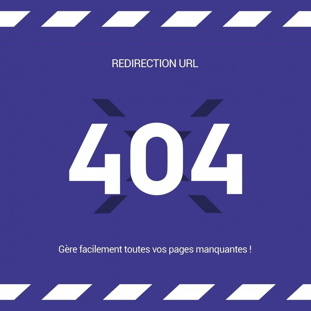 module - URL & Redirections - Redirections URL (301 / Auto-répare / Multishop / SEO) - 1