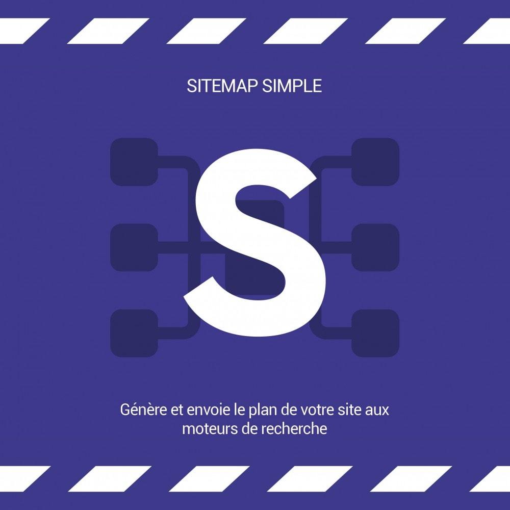 module - SEO (référencement naturel) - Sitemap Simple (Multiboutique, Multilangue et Blogs) - 5