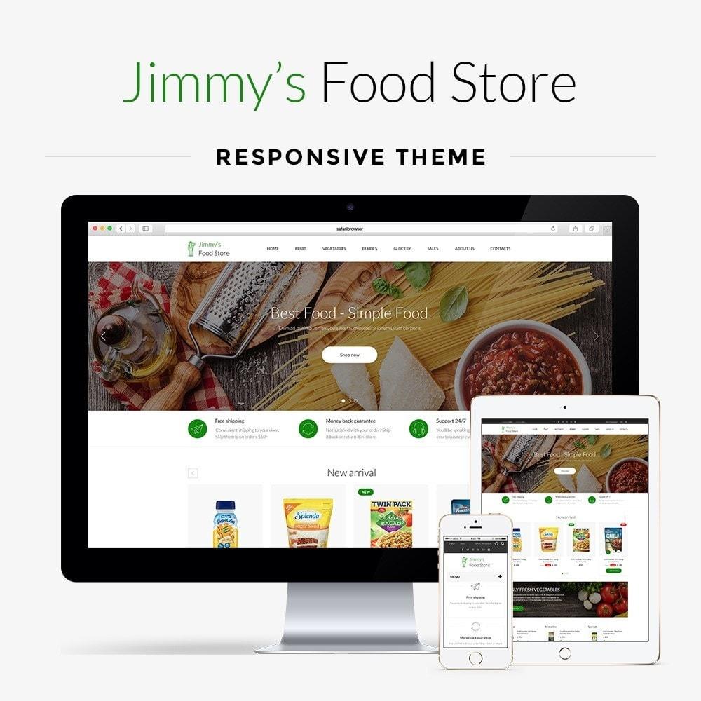 theme - Żywność & Restauracje - Jimmy's Food Store - 1