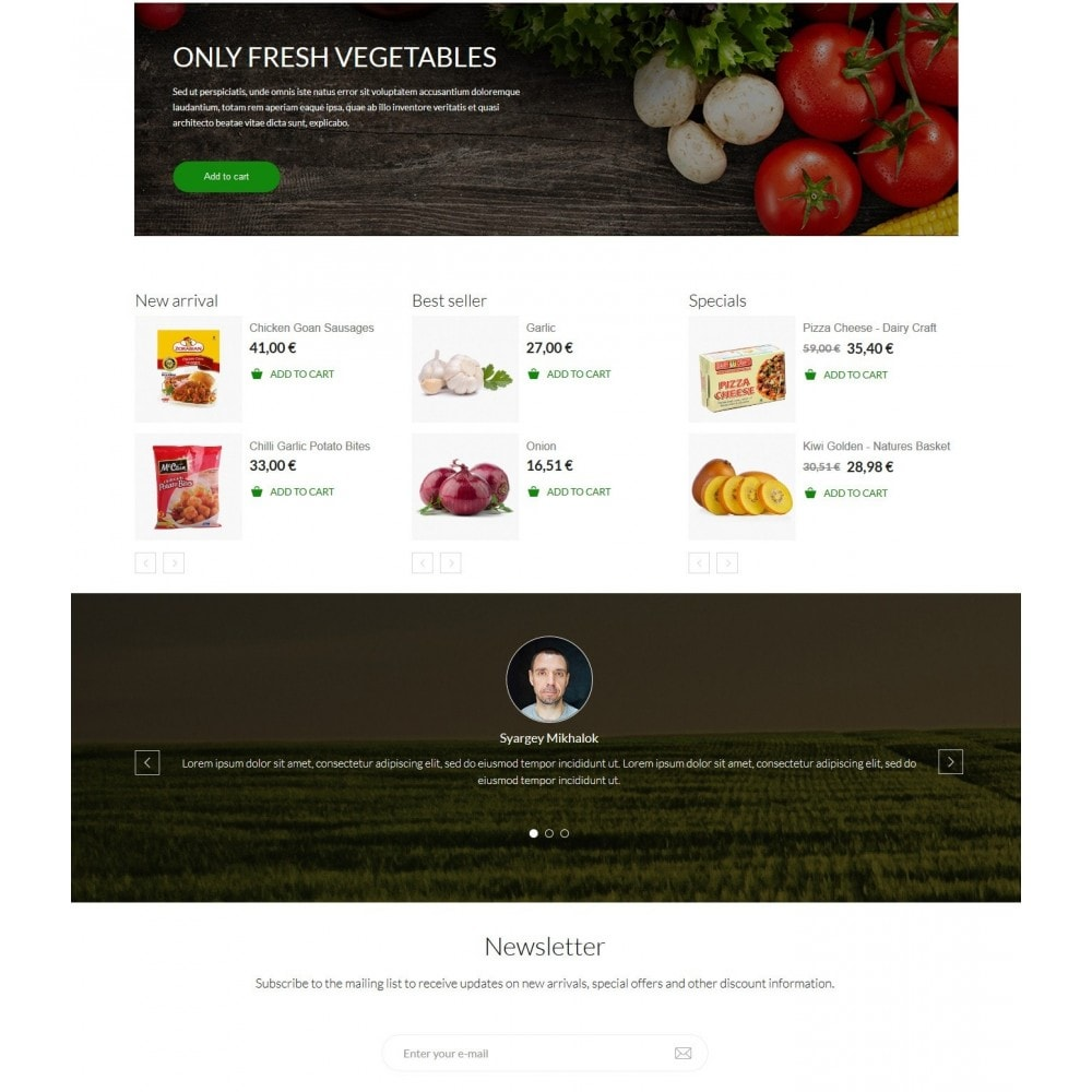 theme - Alimentation & Restauration - Jimmy's Food Store - 2