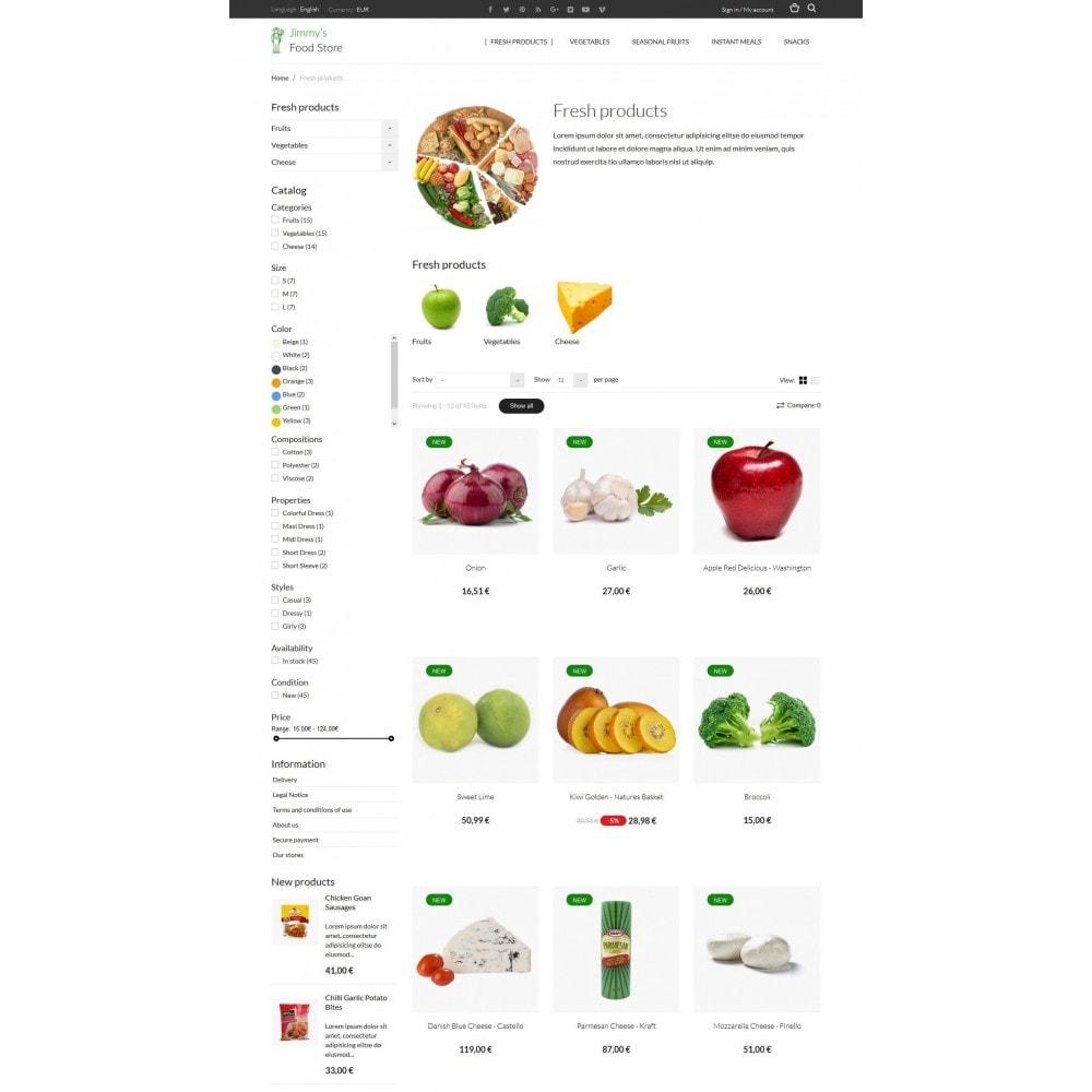 theme - Cibo & Ristorazione - Jimmy's Food Store - 4