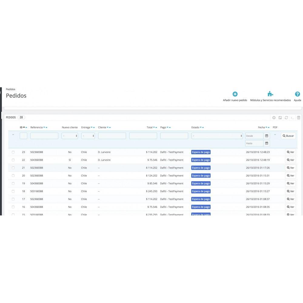 module - Marketplaces - Sincronización Marketplace Dafiti de pedidos y stock - 4