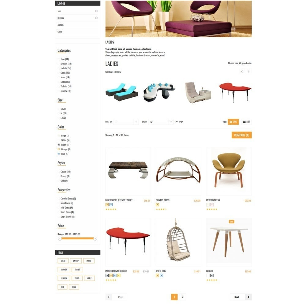 theme - Casa & Jardins - Interior Home Store - 6