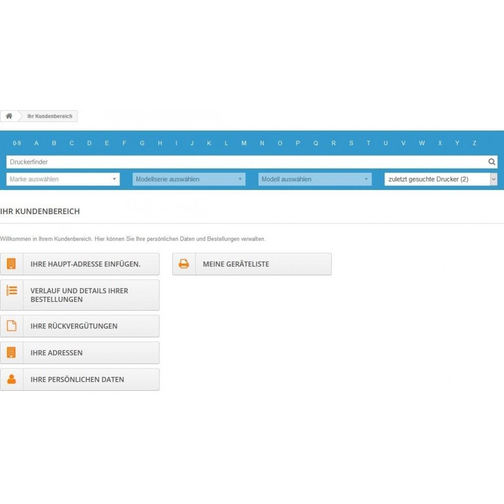 module - Suche & Filter - Tinten und Toner Finder (TopFINDER) - 8