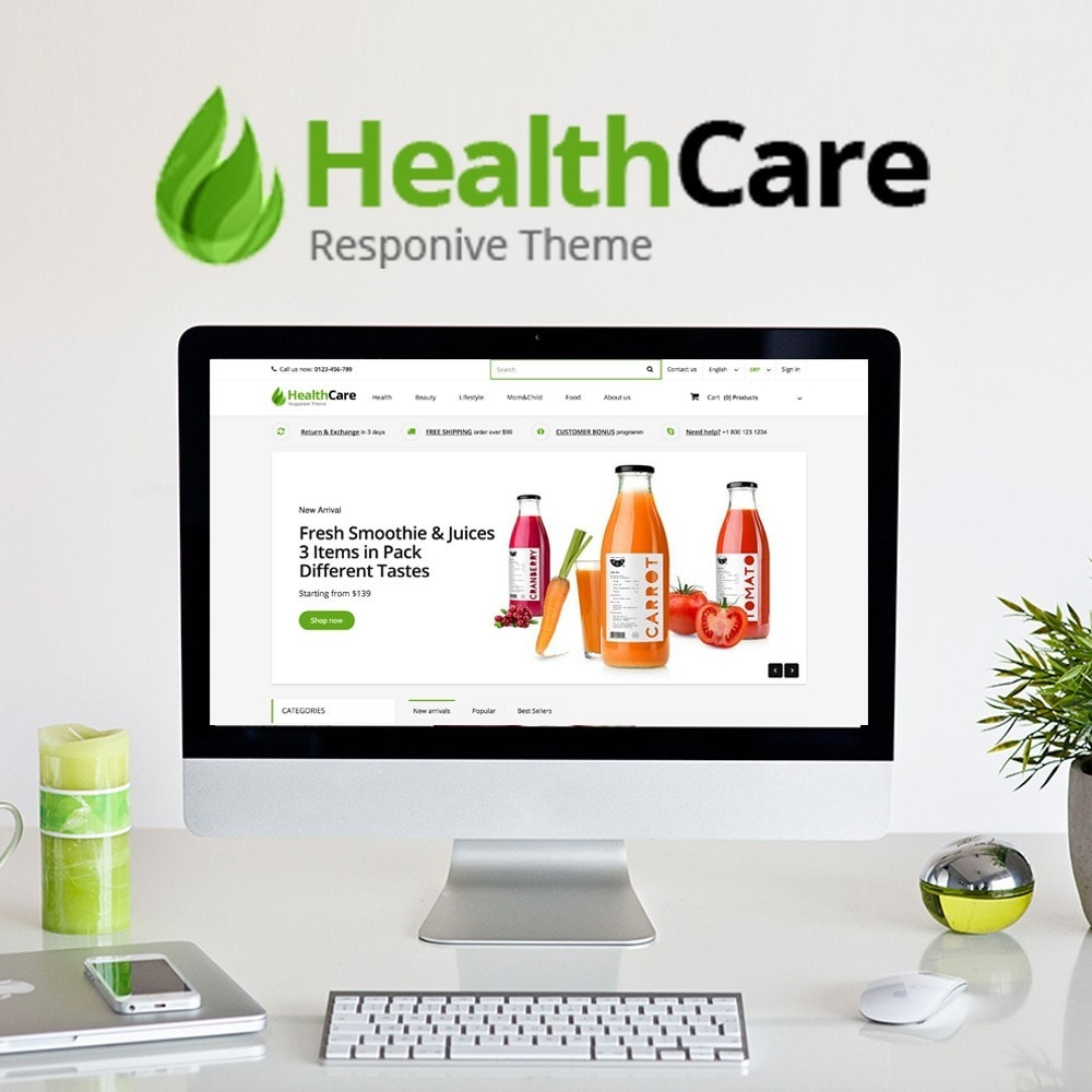 theme - Saúde & Beleza - Health Care - 1