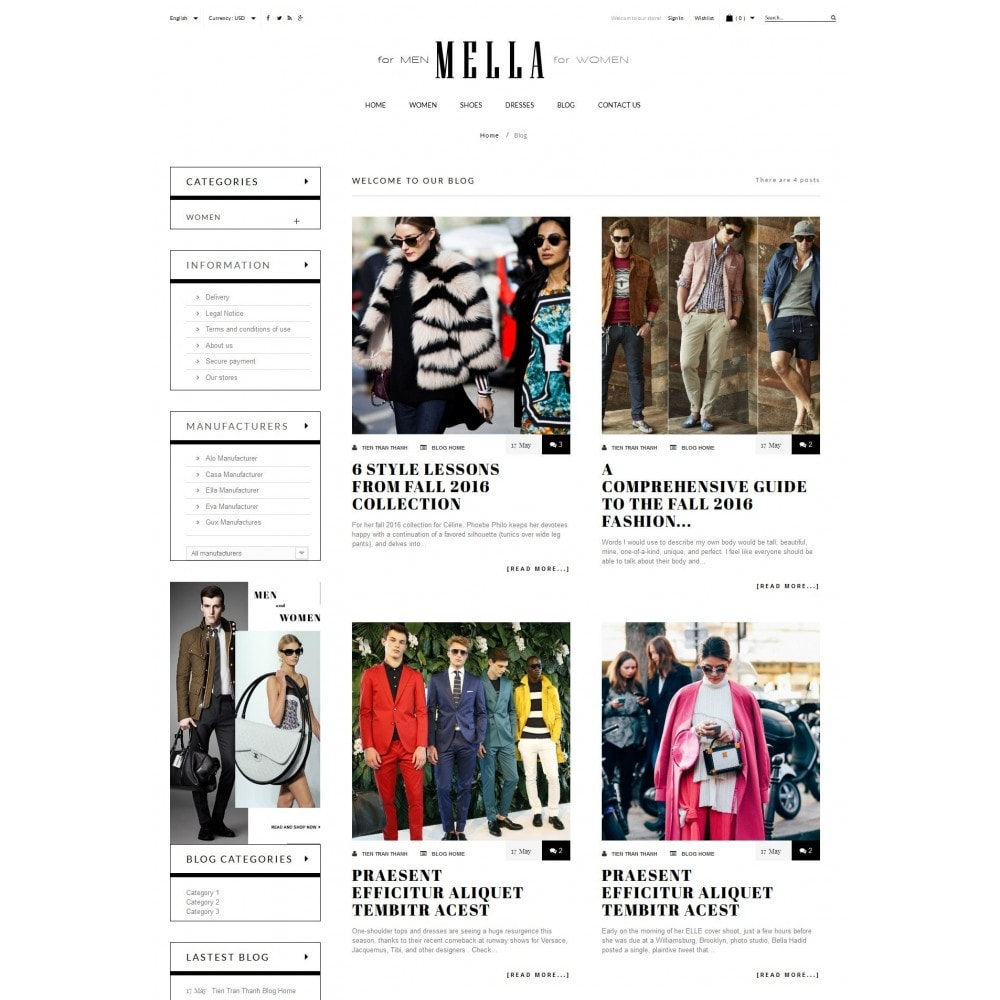 theme - Mode & Schuhe - Mella Fashion Store - 6
