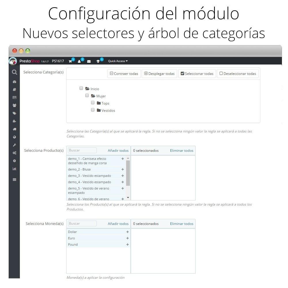 module - Promociones y Regalos - Incremento/Descuento de precio por grupo, categoría... - 6