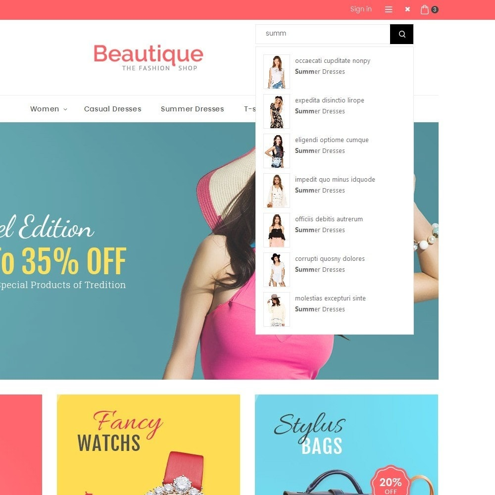 theme - Moda & Calzature - Beautique Fashion Store - 11