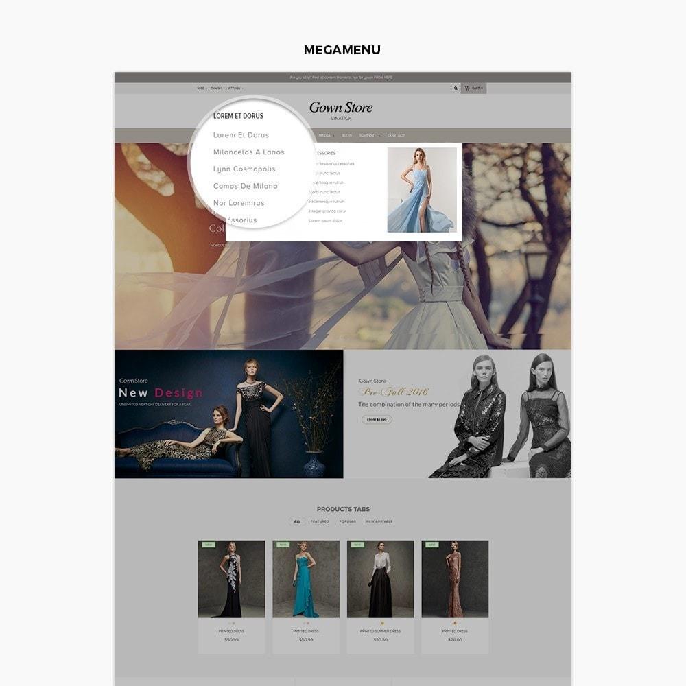 theme - Moda & Obuwie - Ap Gown Store - 2