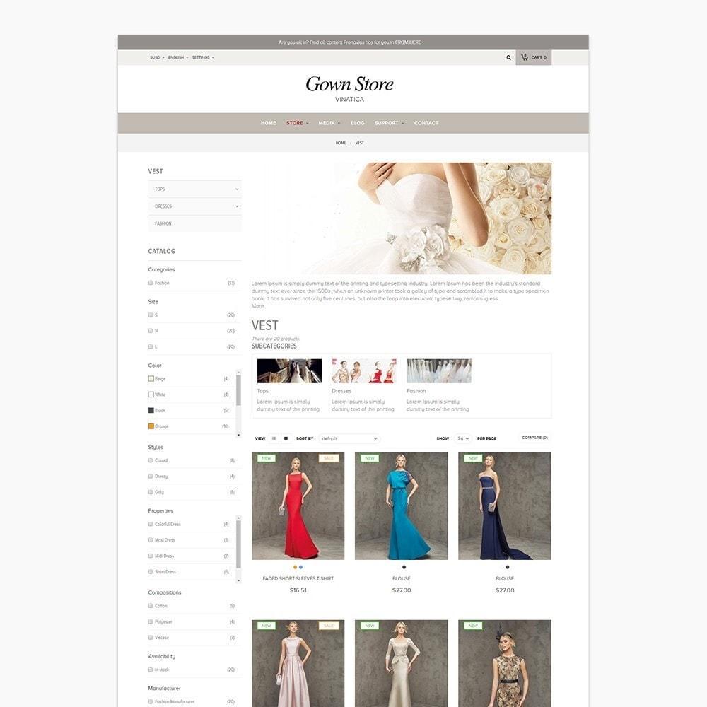 theme - Moda & Calçados - Ap Gown Store - 4