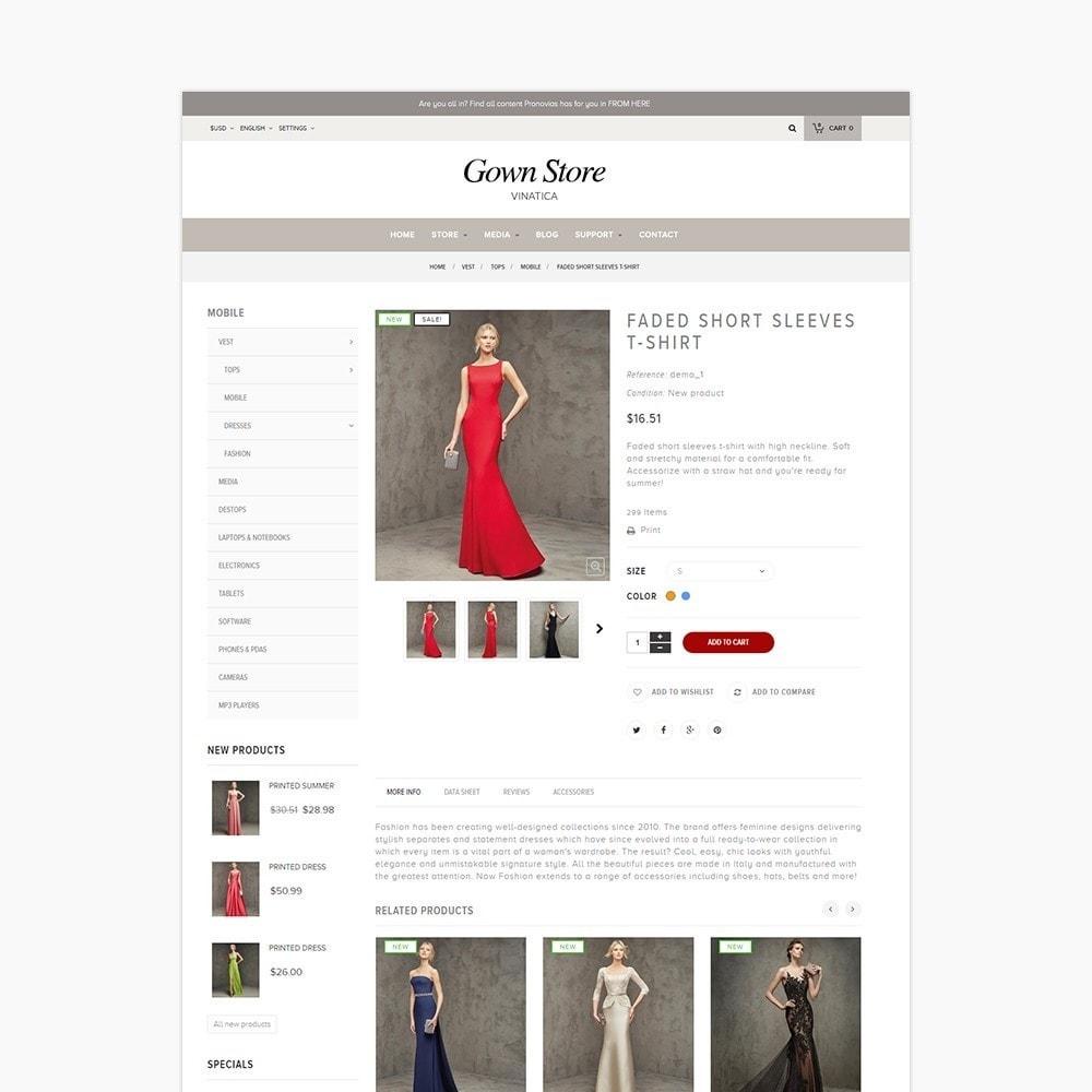 theme - Moda & Obuwie - Ap Gown Store - 6