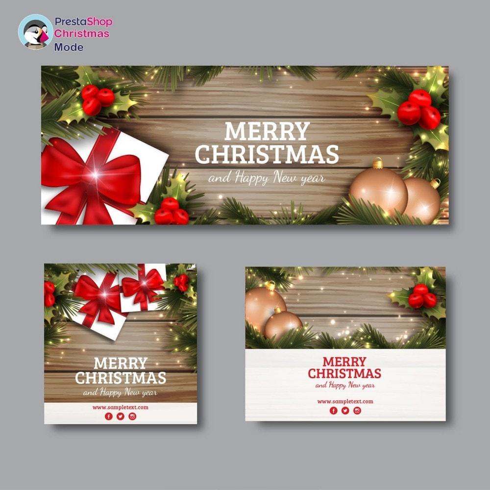 module - Individuelle Seitengestaltung - Christmas Mode - Shop design customizer - 7