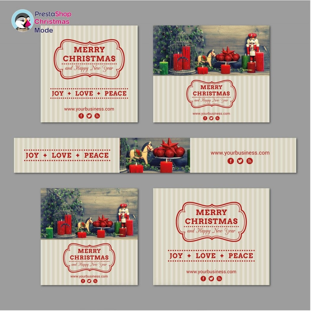 module - Personalisering van pagina's - Christmas Mode - Shop design customizer - 11