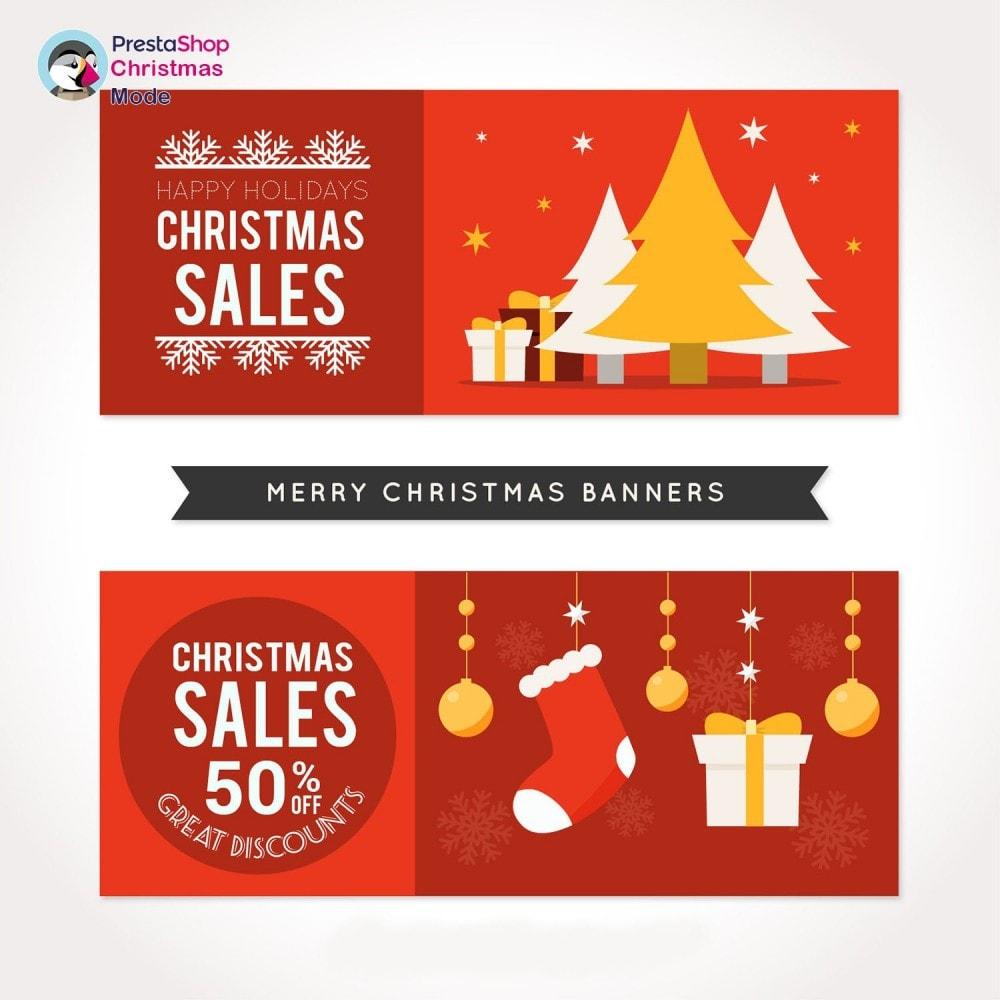 module - Individuelle Seitengestaltung - Christmas Mode - Shop design customizer - 18