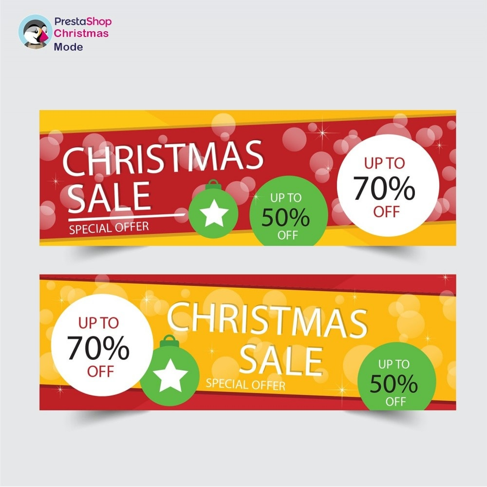 module - Personalizzazione pagine - Christmas Mode - Shop design customizer - 22