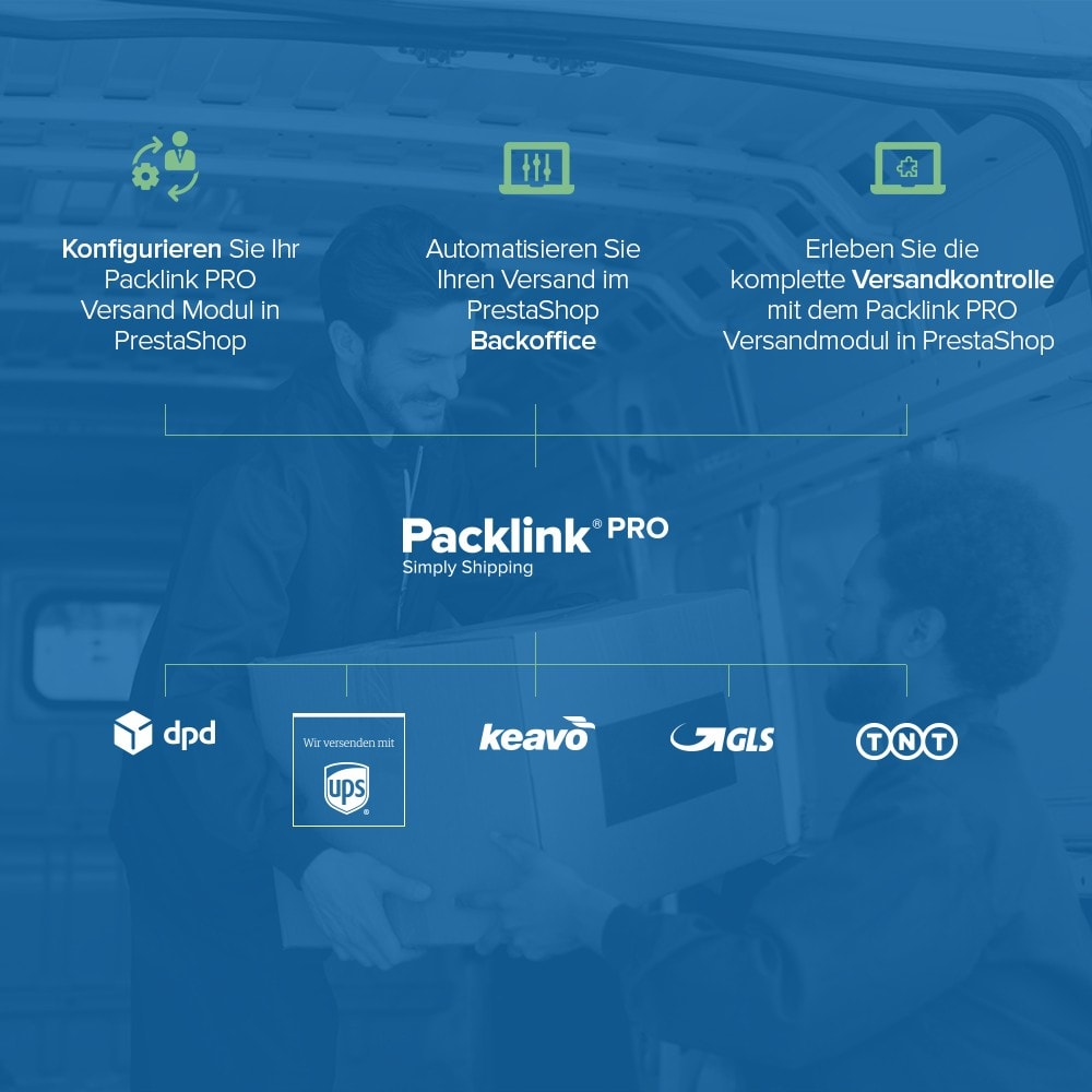 module - Versandkosten - Versandplattform Packlink PRO - 3