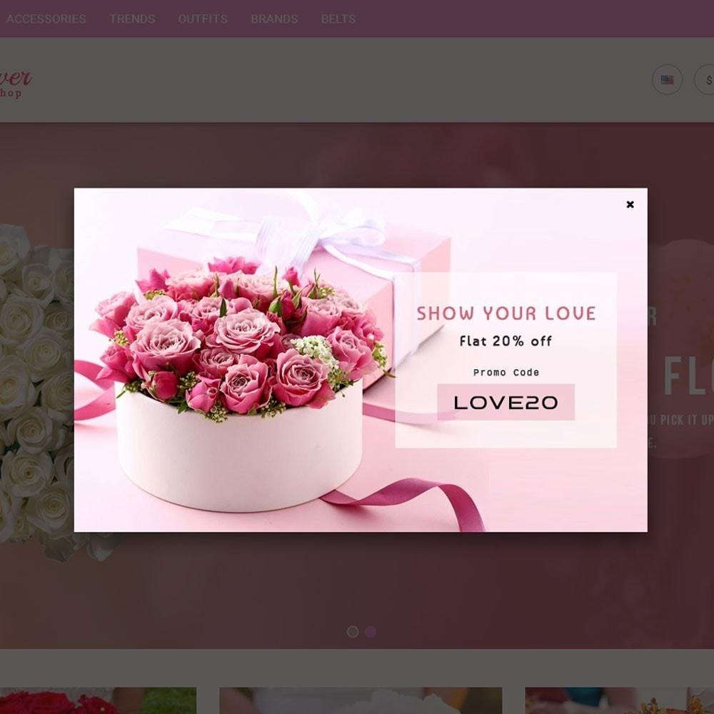 theme - Подарки, Цветы и праздничные товары - Flower Store - 4