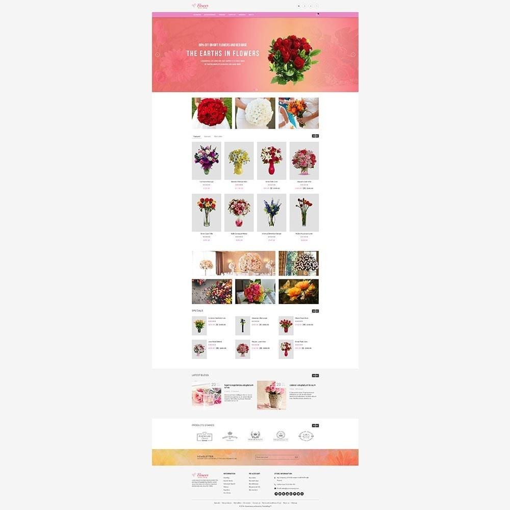 theme - Geschenke, Blumen & Feiern - Flower Store - 5