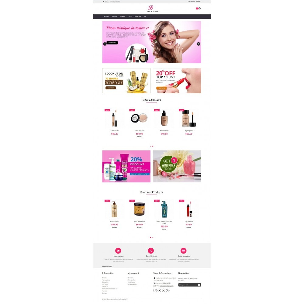 theme - Salute & Bellezza - beauty cosmetics - 1