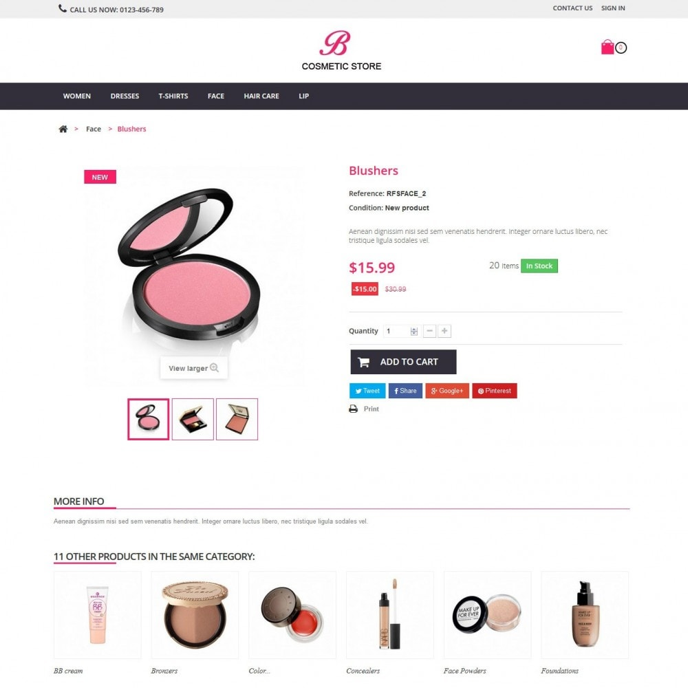 theme - Salute & Bellezza - beauty cosmetics - 5