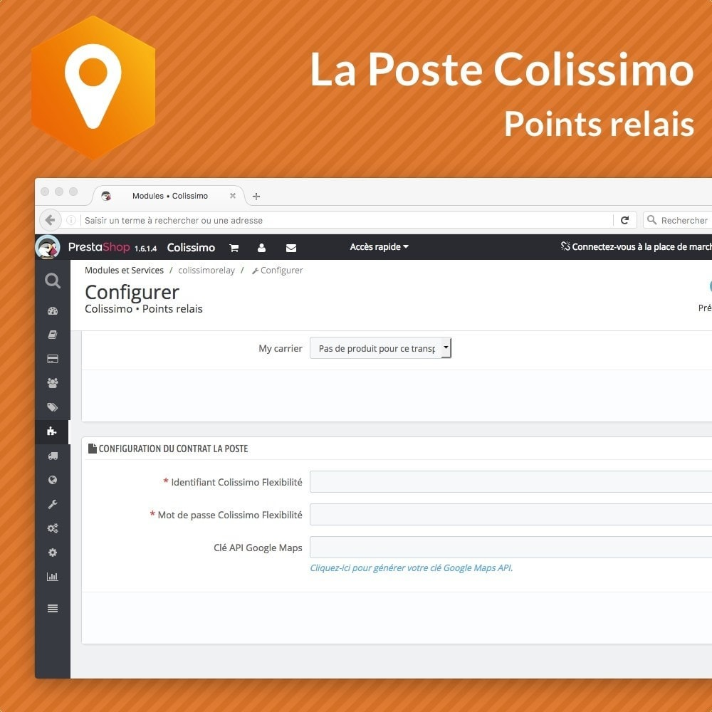 module - Point Relais & Retrait en Magasin - Colissimo Points relais - 2
