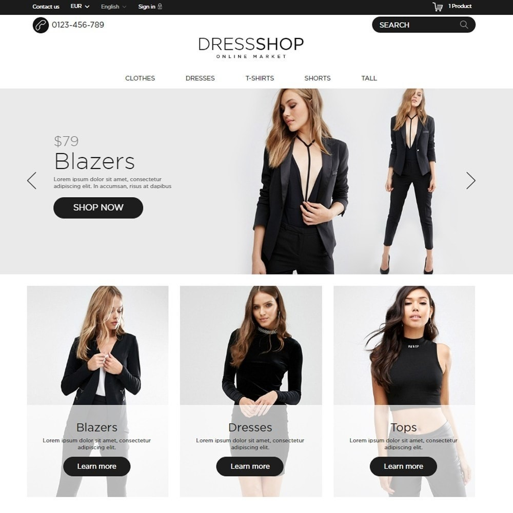 theme - Moda & Calzature - DressShop - 2