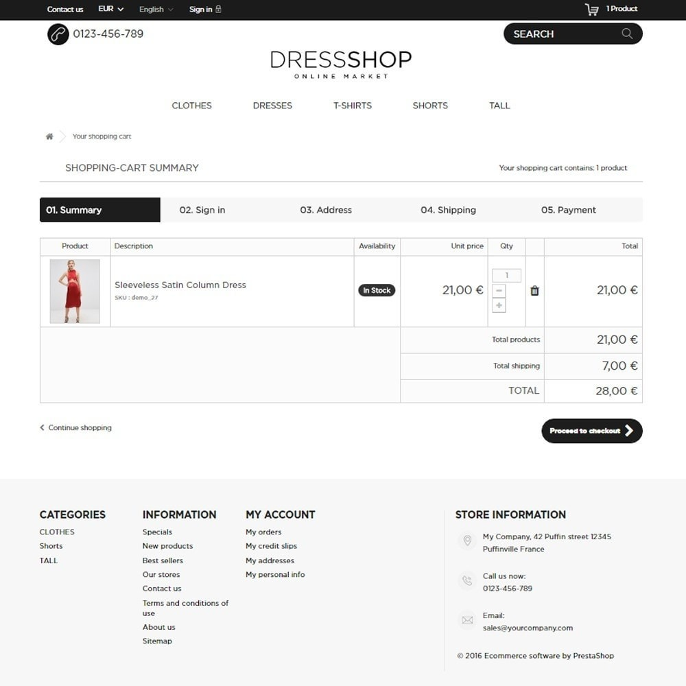 theme - Mode & Schoenen - DressShop - 9