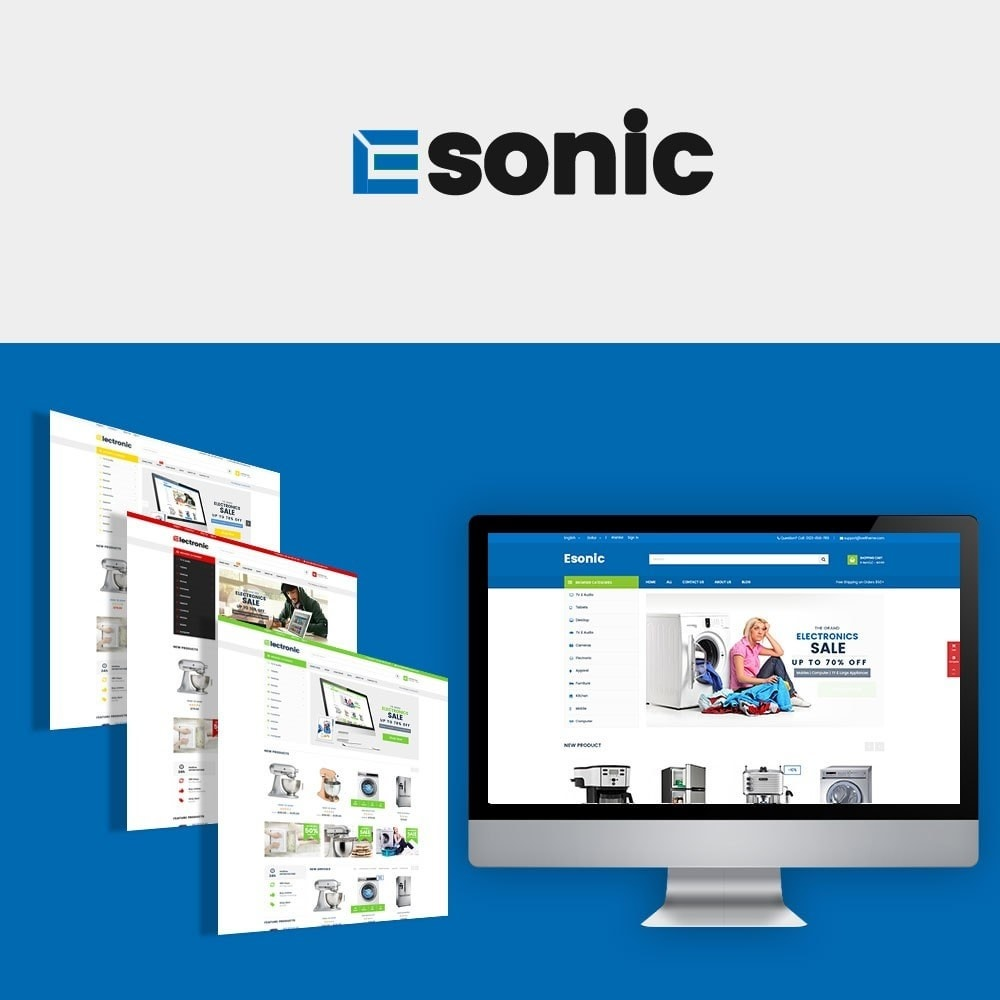 theme - Home & Garden - Electronic Marketplaces - 1