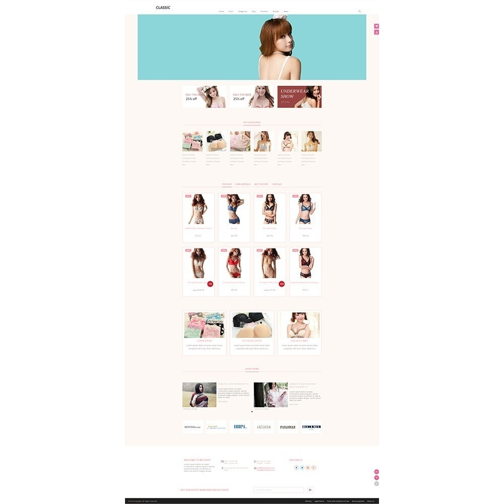 theme - Fashion & Shoes - Cistaceae Fashion Store - 2