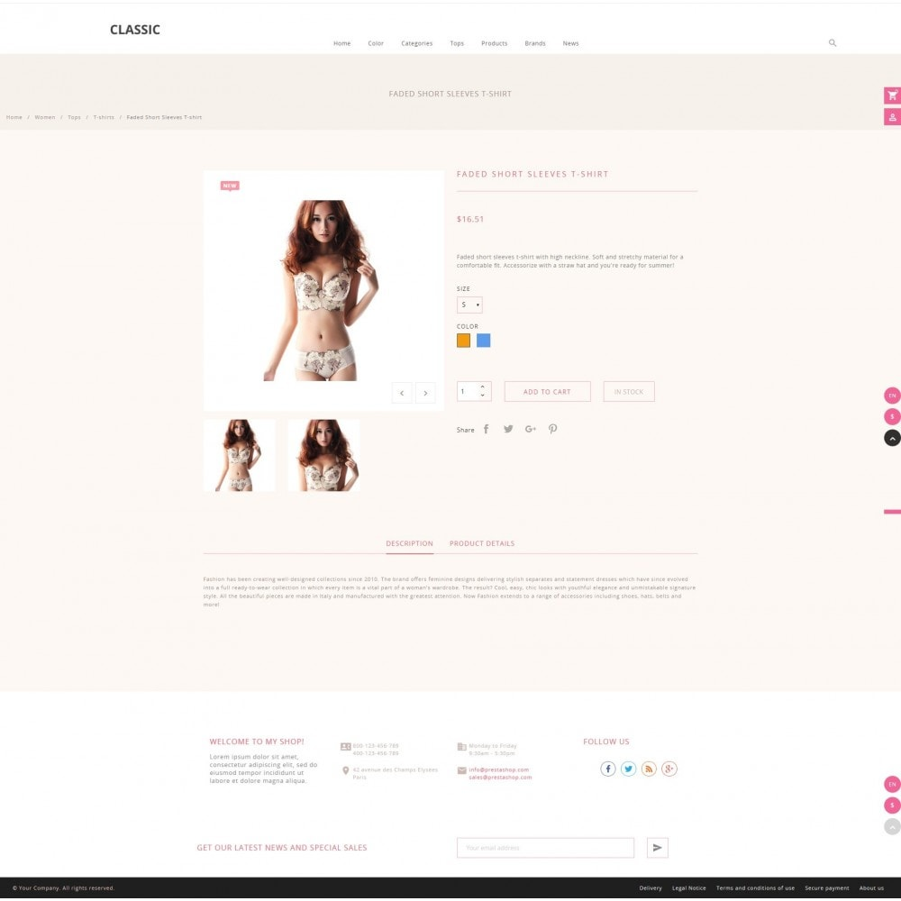 theme - Fashion & Shoes - Cistaceae Fashion Store - 4