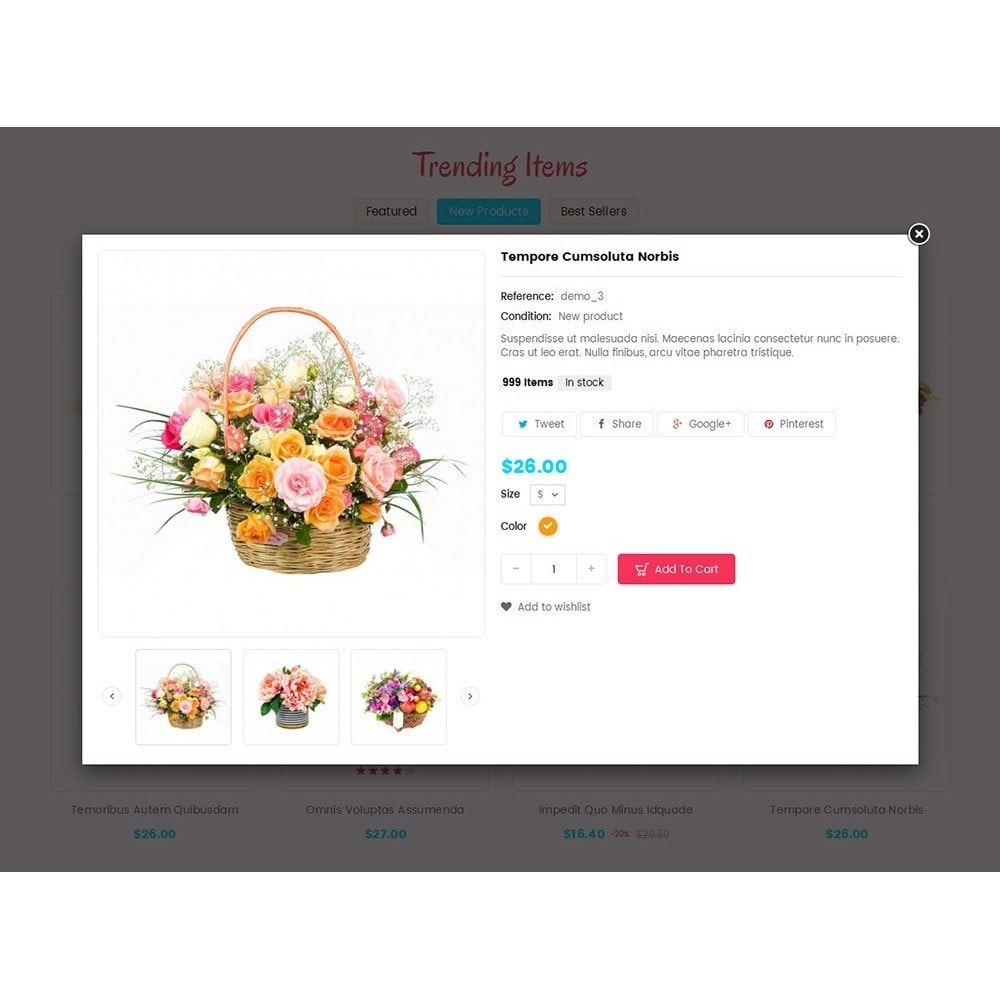 theme - Template PrestaShop - Bloom Flower Store - 7