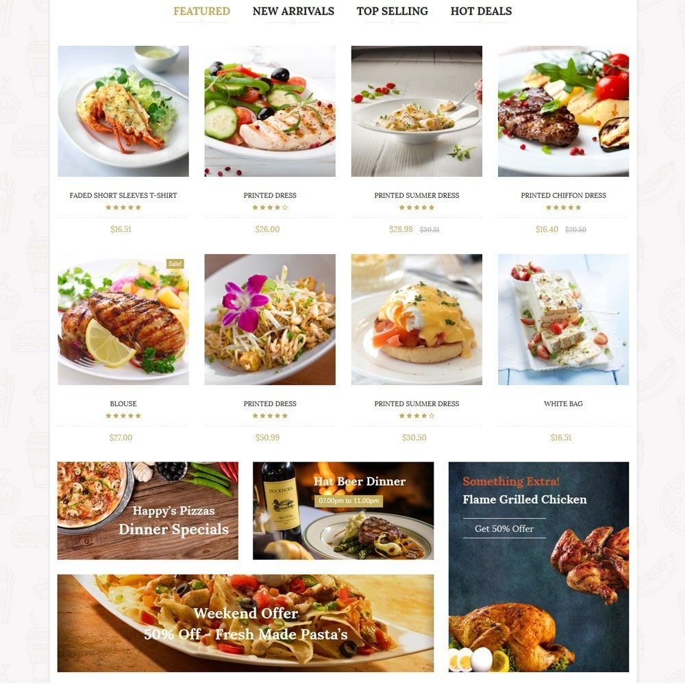 theme - Eten & Restaurant - Barilla Food Store - 3
