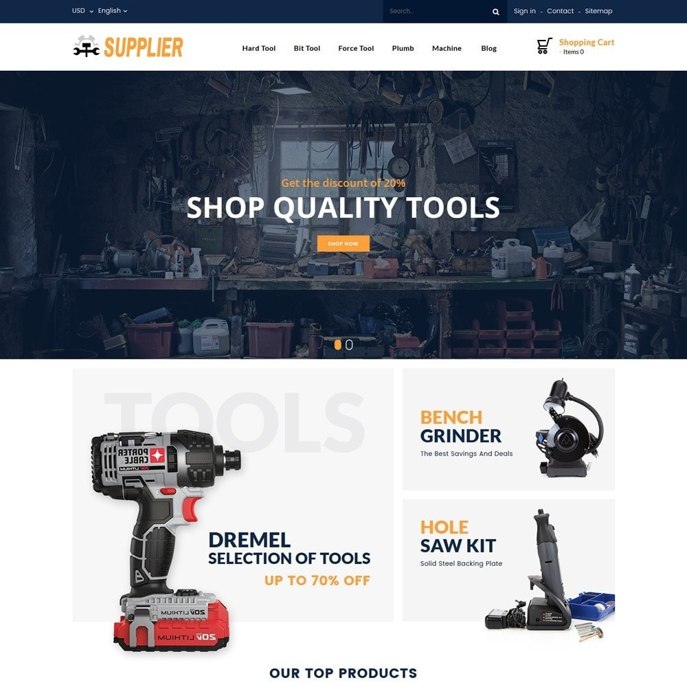 theme - Automotive & Cars - Supplier Tools Store - 2