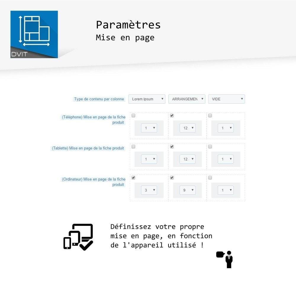 module - Personnalisation de Page - Arrangement de produits - 13