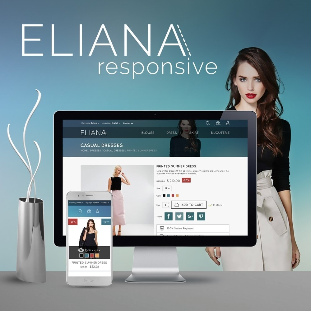 theme - Mode & Schoenen - Eliana Fashion Store - 1