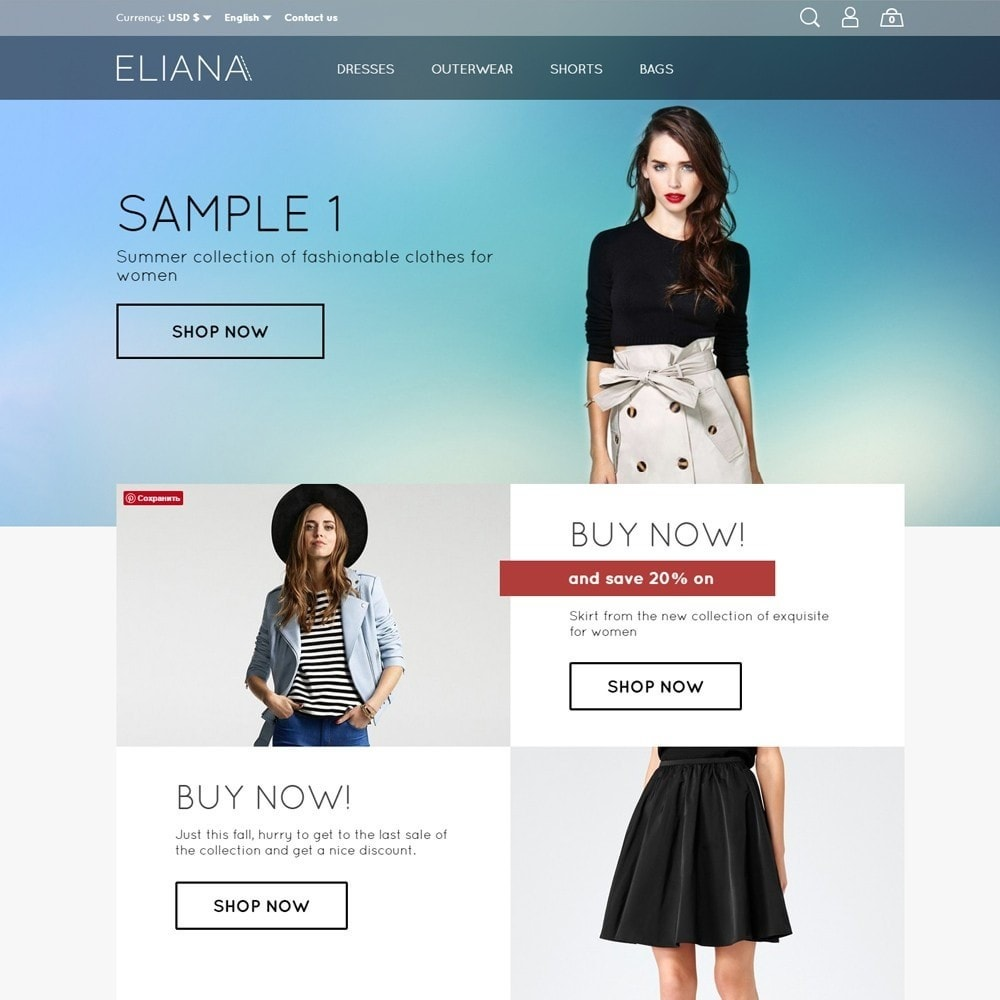 theme - Mode & Schoenen - Eliana Fashion Store - 2