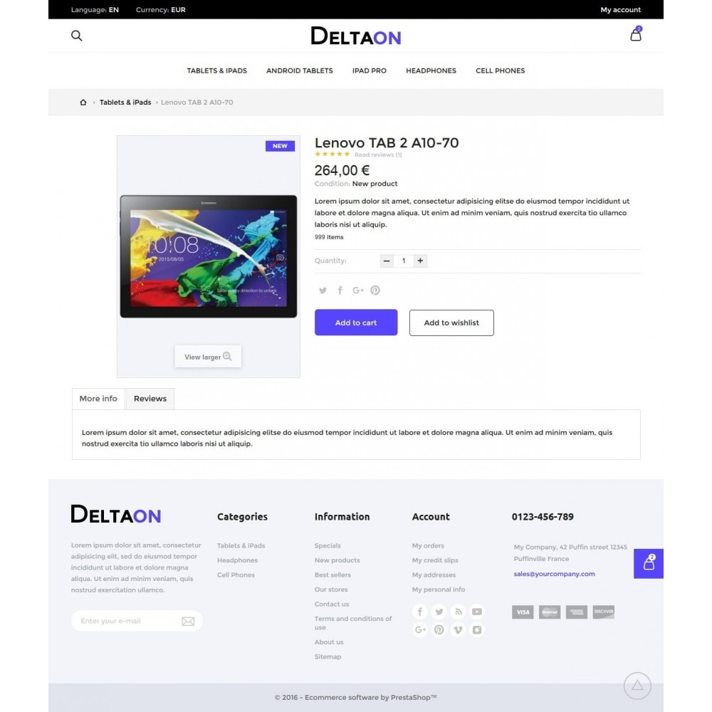 theme - Electronique & High Tech - DeltaON Store - 6