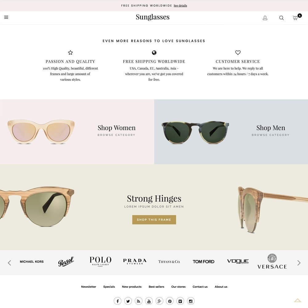 theme - Fashion & Shoes - Sunglasses - 4