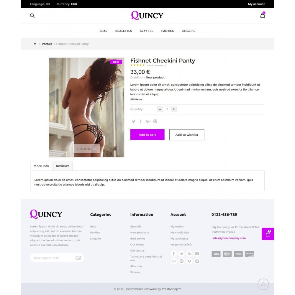 theme - Lingerie & Volwassenen - Quincy Shop - 6
