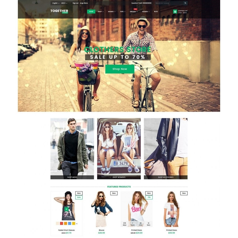 theme - Moda & Obuwie - Together Fashion - 2