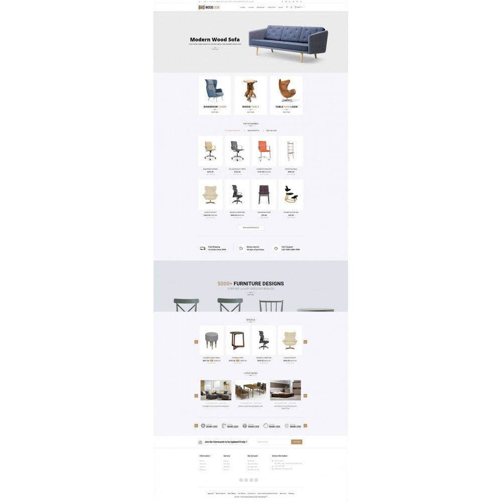 theme - Dom & Ogród - Woodlook Online Furniture Store - 2