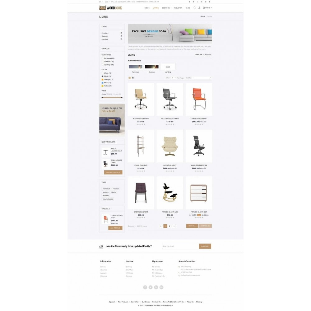 theme - Dom & Ogród - Woodlook Online Furniture Store - 3