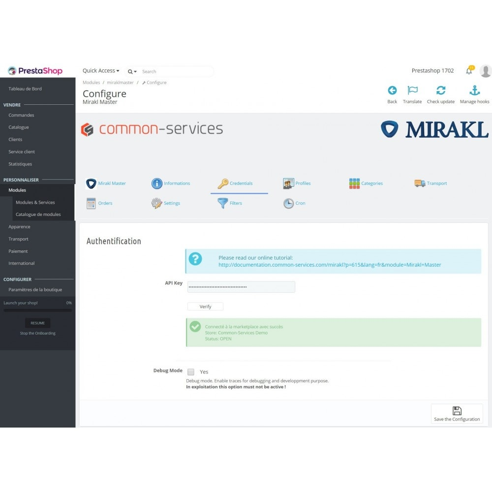 module - Tráfico y Marketplaces - Mirakl - multi-marketplaces connector - 1