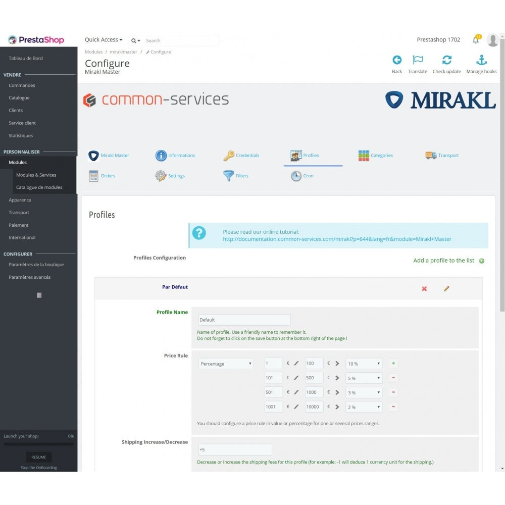 module - Revenda (marketplace) - Mirakl - multi-marketplaces connector - 4